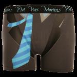 Grey Suit Tie