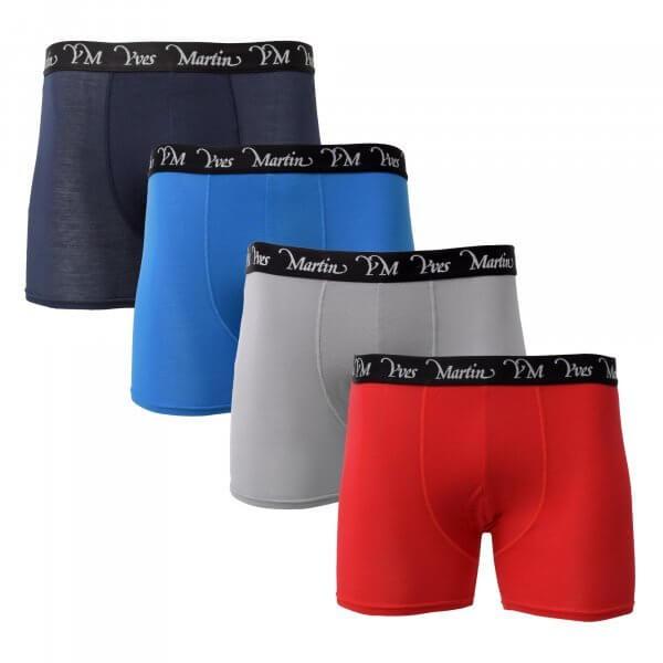 assortment of 4 mens modal boxers